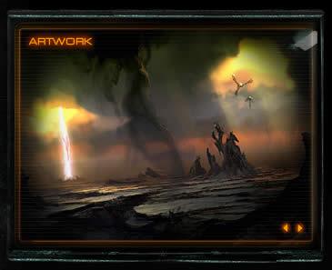 StarCraft 2 image border design example