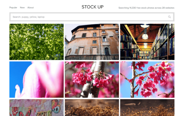 Stock Up free stock photography website