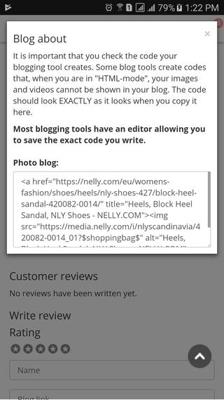 Nelly blog it modal screen