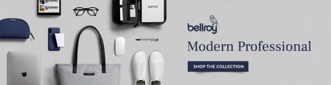 Bellroy banner ad