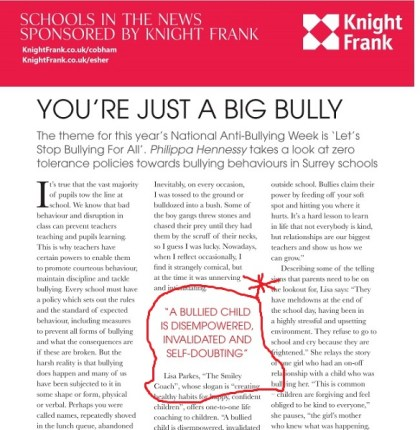 bullying piece darling mag