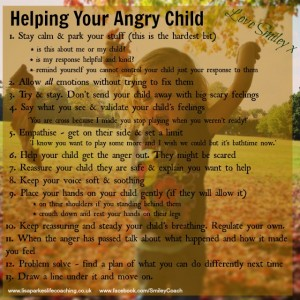 helping your angry child