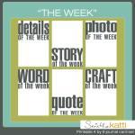 Free printables: Word of the week