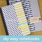 DIY Easy Notebooks: Video Tutorial