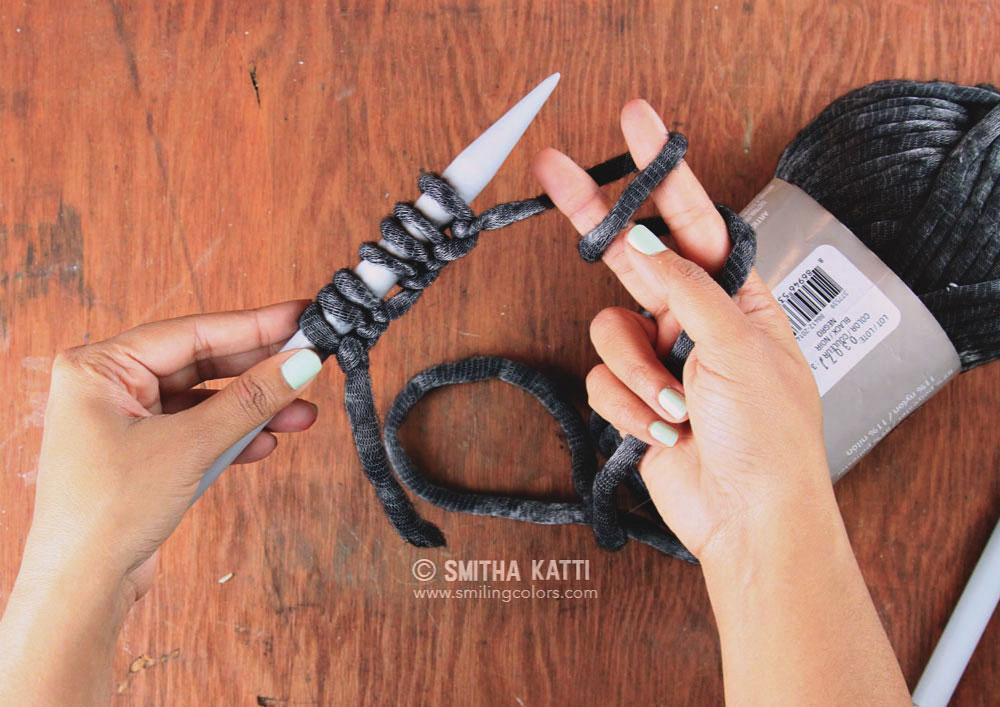 Quick Knit Scarf With Free Pattern Smitha Katti