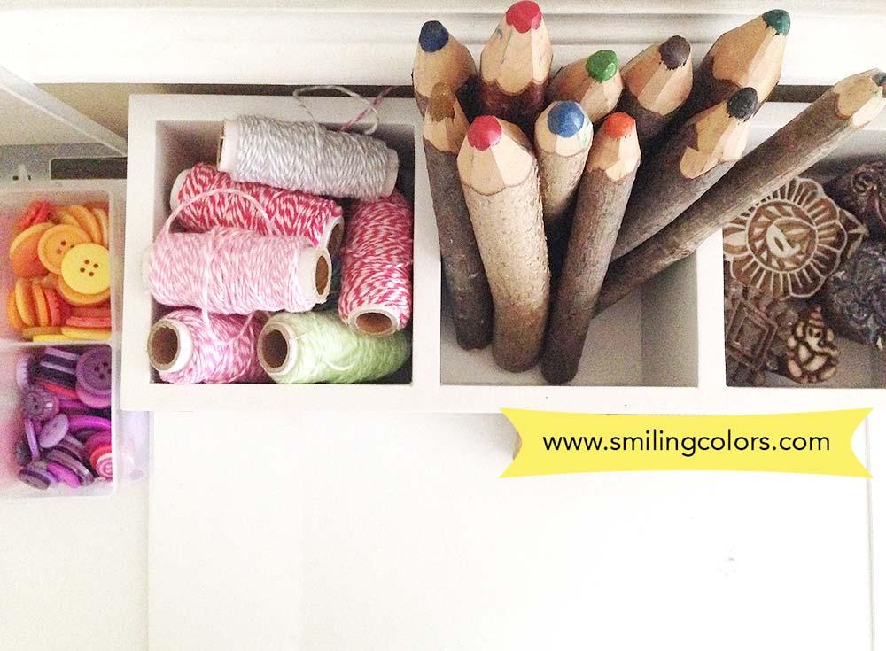 smitha katti craft area