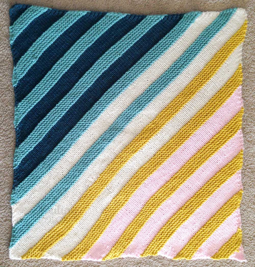 photo relating to Free Printable Knitting Patterns for Baby Blankets identified as How in direction of Knit a corner toward corner kid blanket with Absolutely free behavior