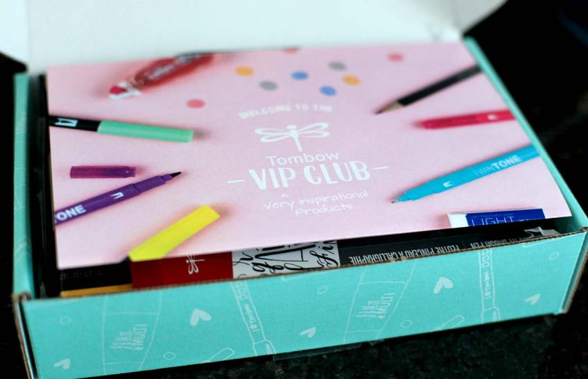 Tombow VIP club unboxing