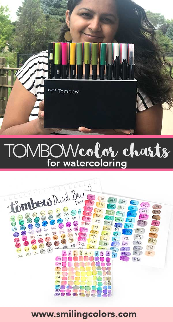 Tombow Color Chart For Watercoloring 3 Ways To Create One With Video