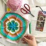 Basic granny square pattern with step by step photos - Smitha Katti