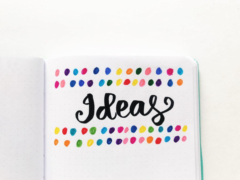 7 Colorful Rainbow Themed Dot Journal Ideas
