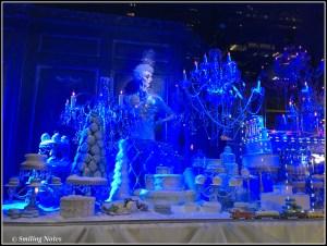 holiday window display saks