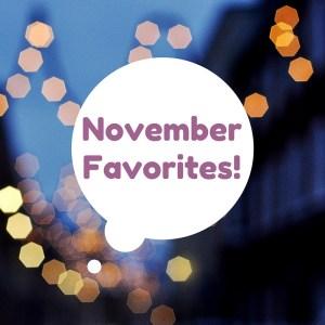 November-favorites