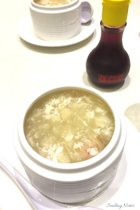 Fish Maw Soup with Crabmeat
