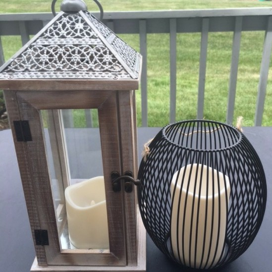 Led candles for patio - Homegoods