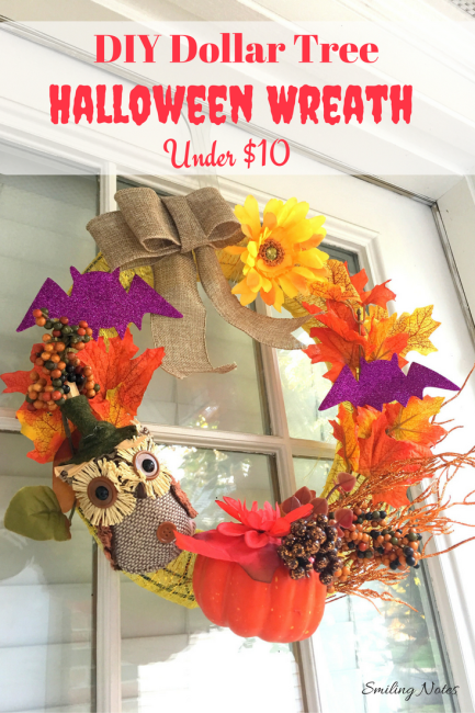 Diy Fall Halloween Wreath