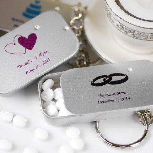 Personalized Mint Tin Keychain