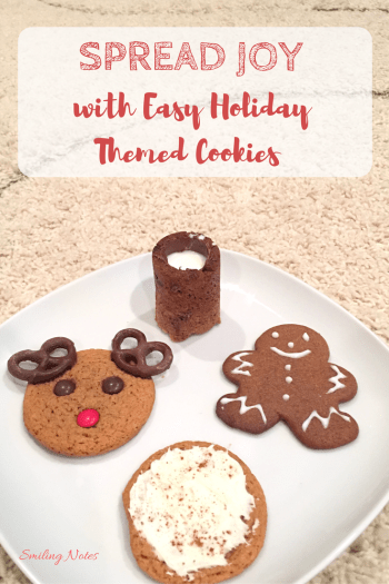 Spread joy with Holiday Themed cookies