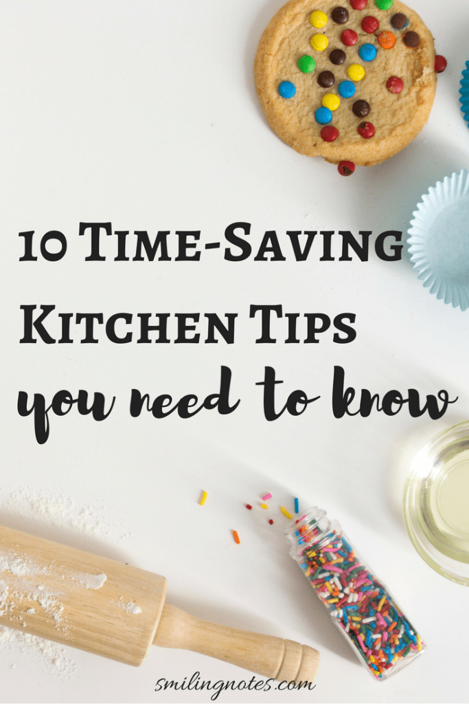 10 Time-Saving Kitchen Hacks You Need to Know by Smiling Notes