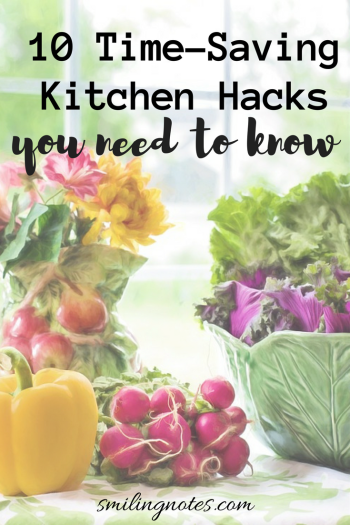 10 Time-Saving Kitchen Hacks you need to know that will make your life so much more simpler!