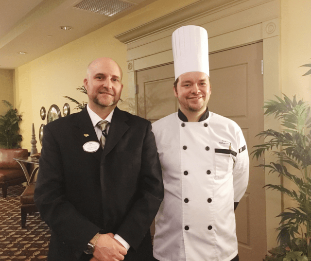 Staff at the 1000 Islands Harbor Hotel