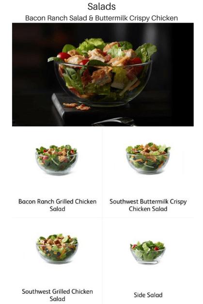 McDonald's Premium Salads