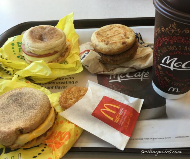 McDonald's all day breakfast menu