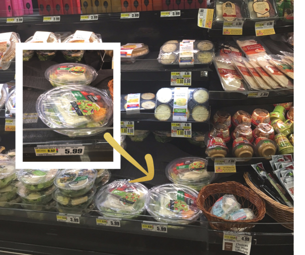 Ready Pac Multi serve Salad available at Shoprite