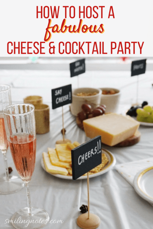 How to Host a Fabulous Cheese & Cocktail Party
