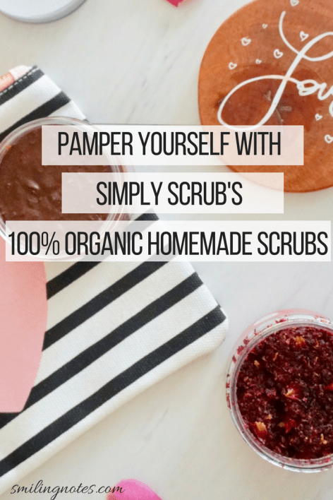 Looking for a way to pamper your skin without all the harsh chemicals? These 100% organic scrubs with great exfoliating benefits and a heavenly smell may just be the perfect answer to your skincare routine.