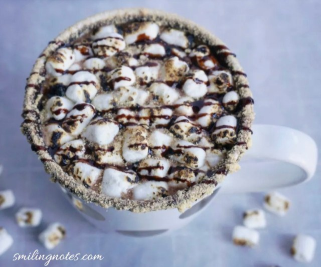 smores hot chocolate