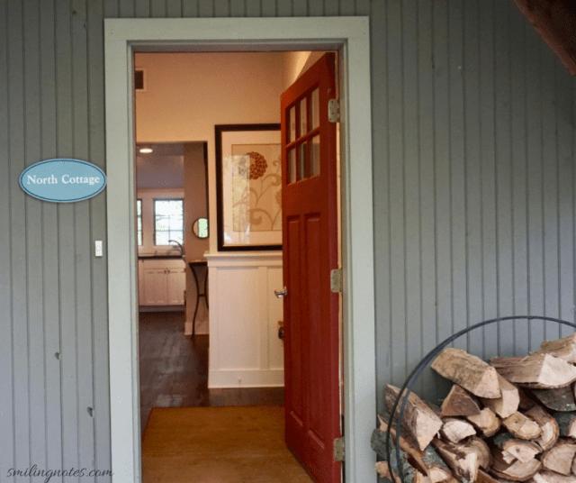 north cottage entrance