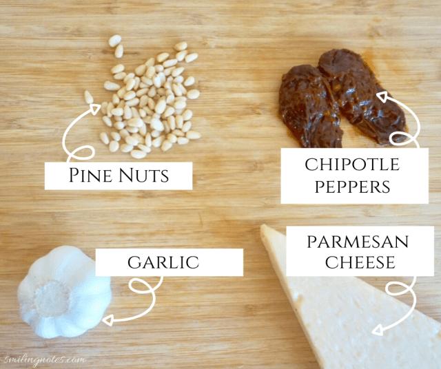recipe chipotle pesto