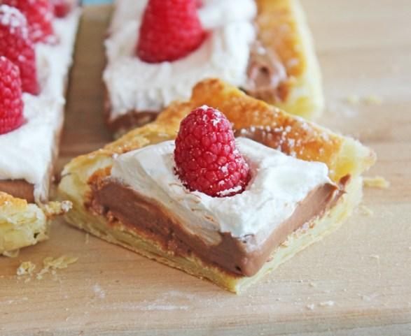 Chocolate-Raspberry-Puff-Pastry