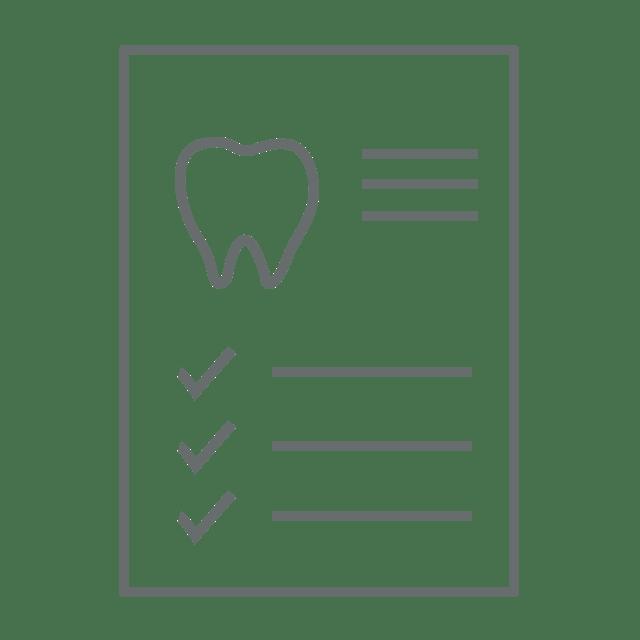 desenho do plano de tratamento ortodontico