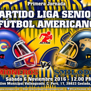 Primera jornada de la liga Senior