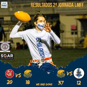 LMFF – Segunda jornada – Resultados