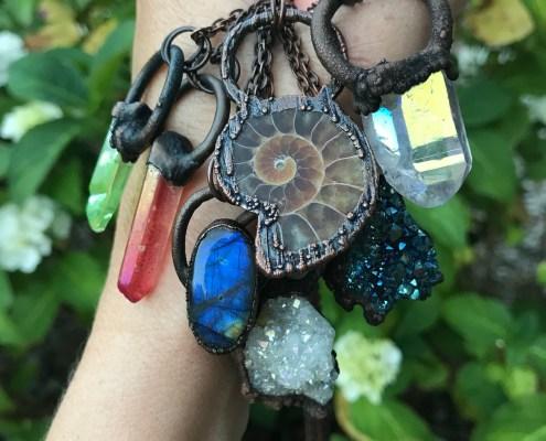 Krystal smykker