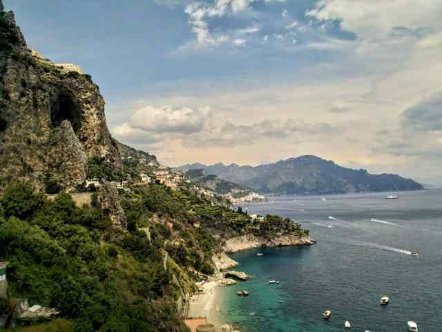 travel itinerary Amalfi coast