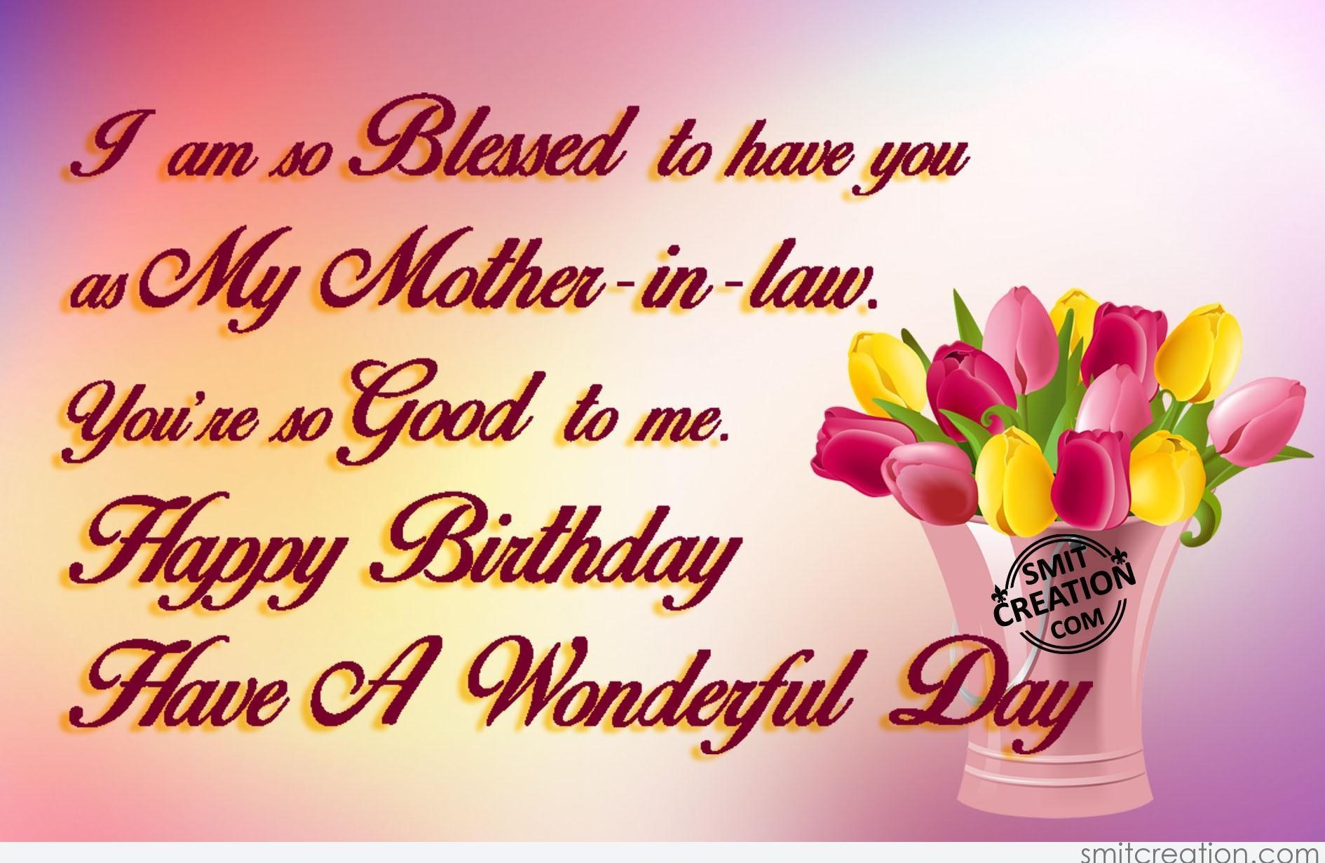 Happy Birthday Mother In Law Smitcreation Com