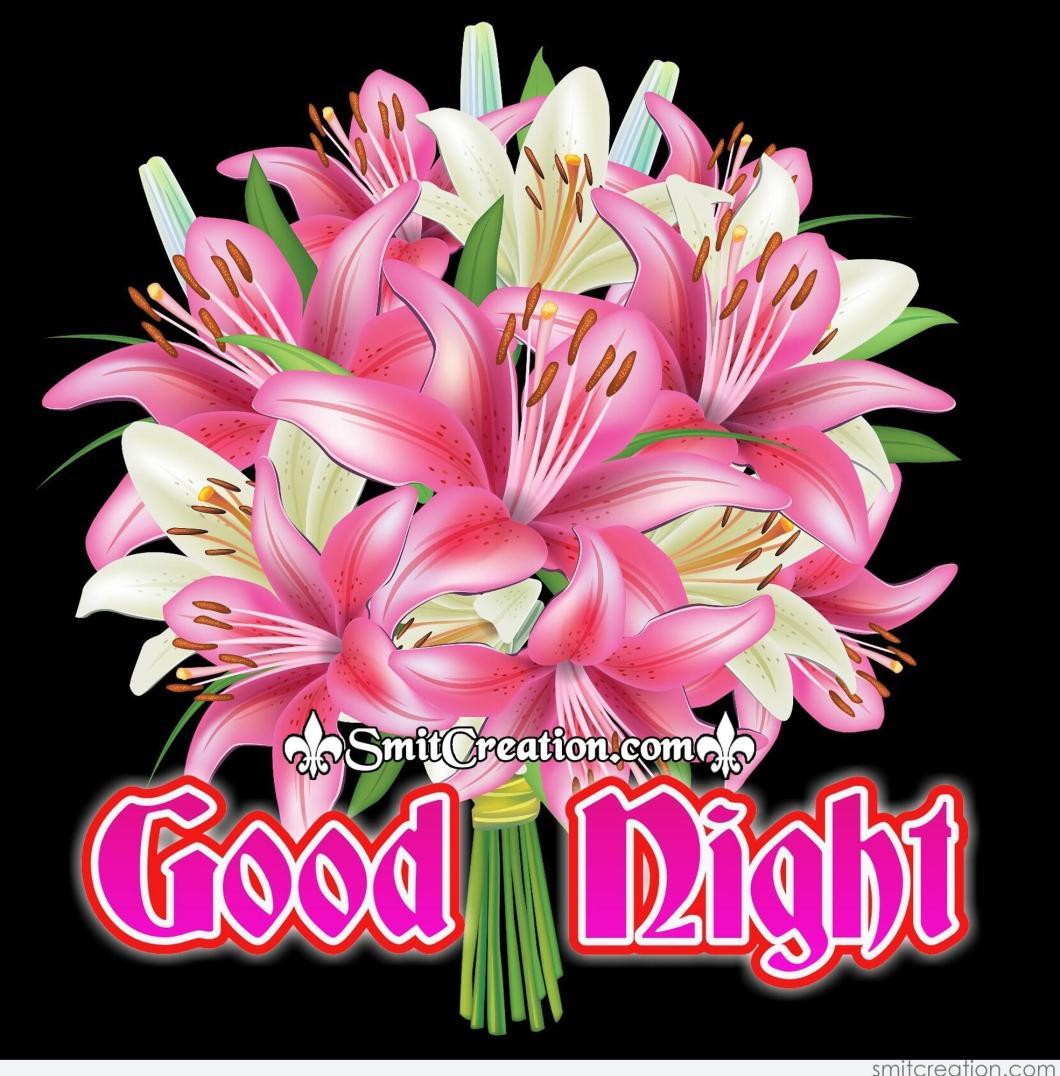 Good Night Flowers Images Hd Kayaflowerco