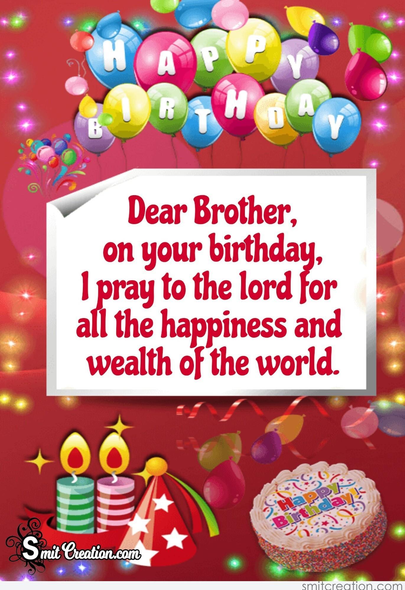 Happy Birthday Brother Smitcreation Com