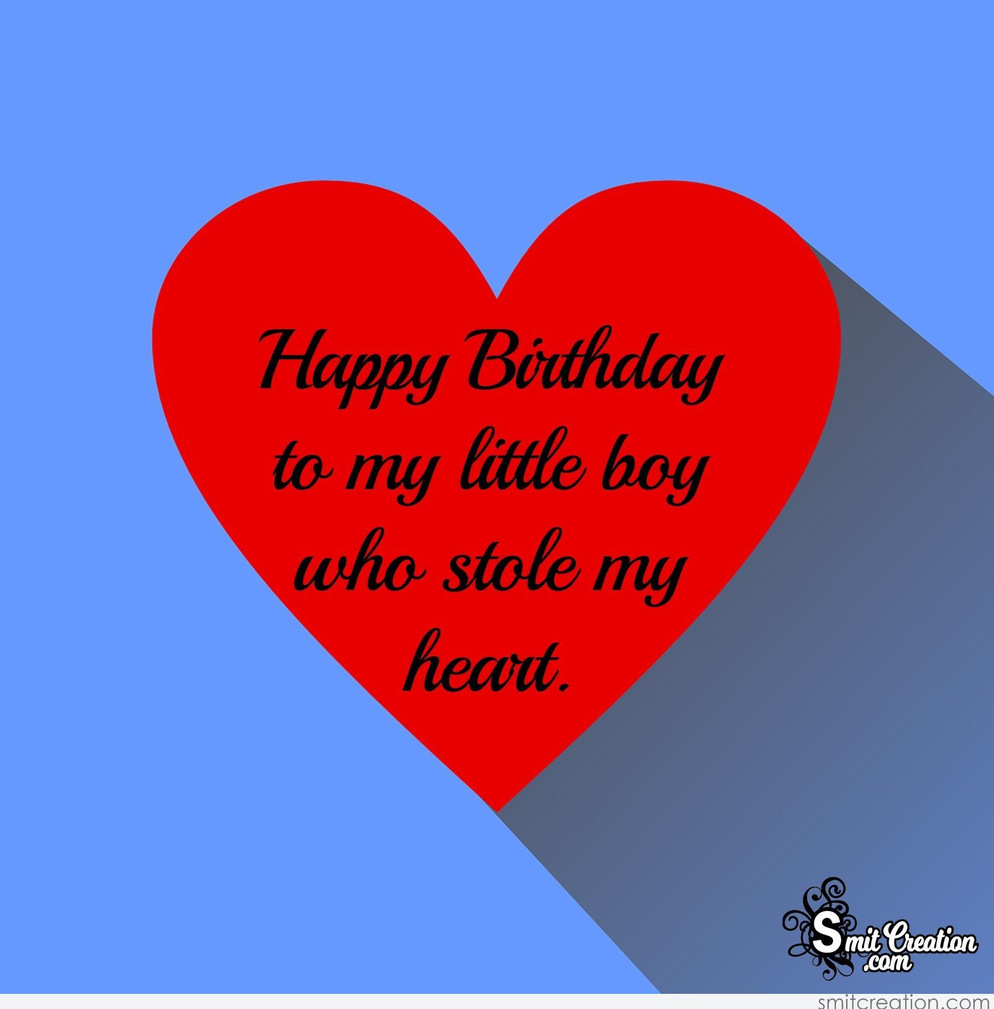 My Happy Quotes Birthday Son Wishes