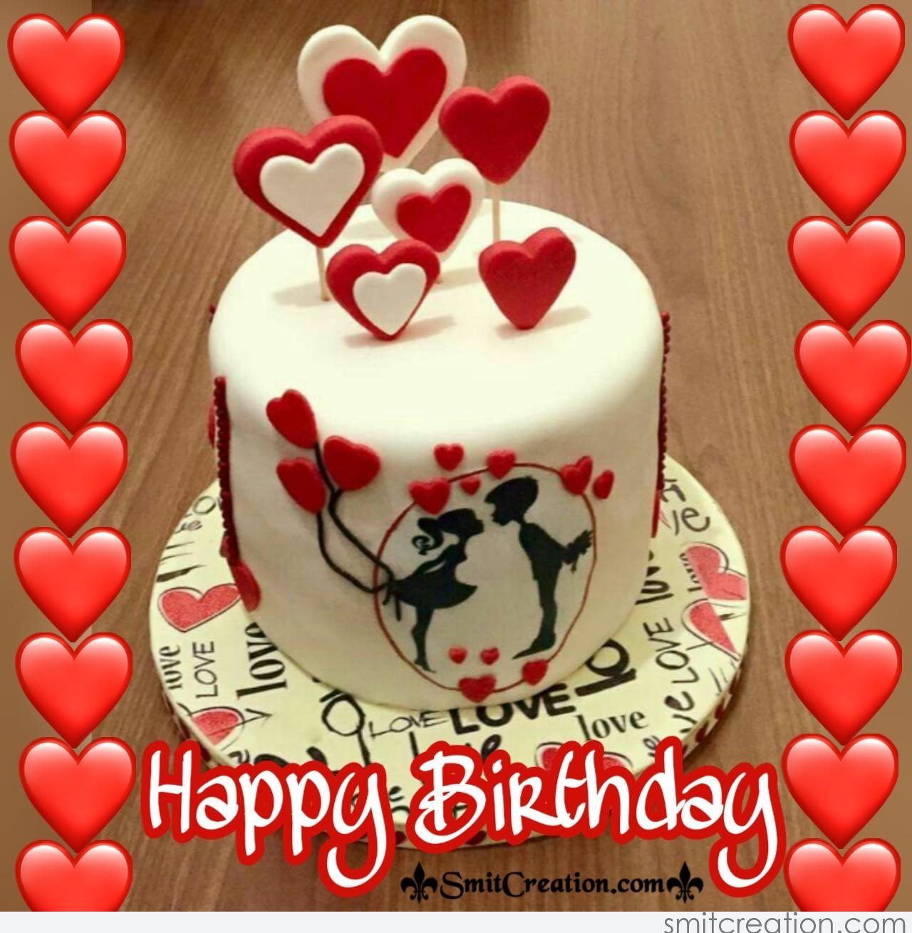 Happy Birthday Cake With Love Smitcreation Com
