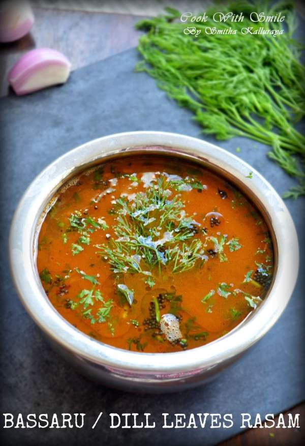 dill leaves rasam