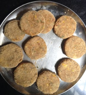 make corn tikki