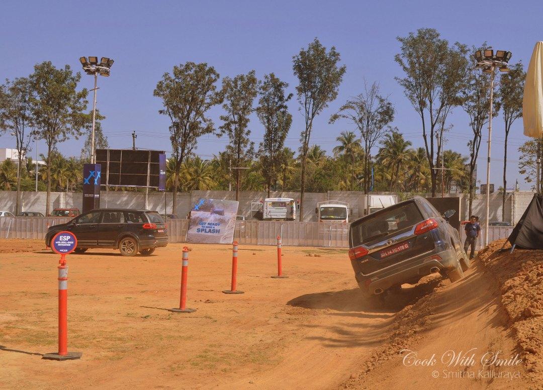 tata hexa experience bangalore