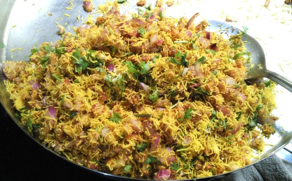 Sev Paratha stuffing recipe