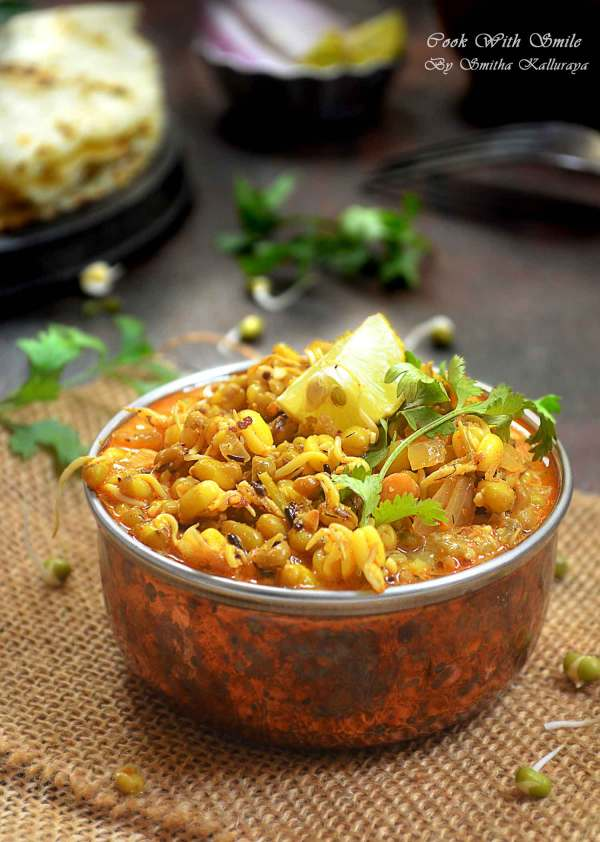 Sprouts curry recipe