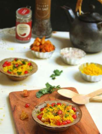 Aloo chat recipe
